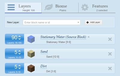 Superflat Generator - Minecraft App