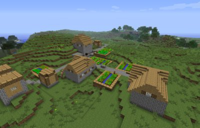 Unofficial minecraft 1.8 seed map