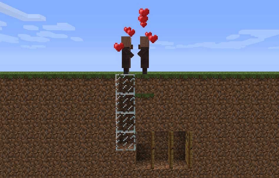Villages minecraft tutorial infinite breeding setup ccuart Choice Image